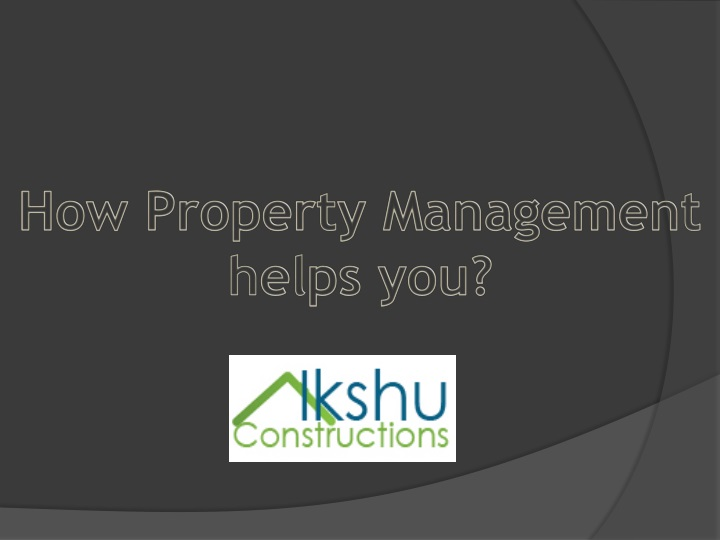 how property management helps you n.