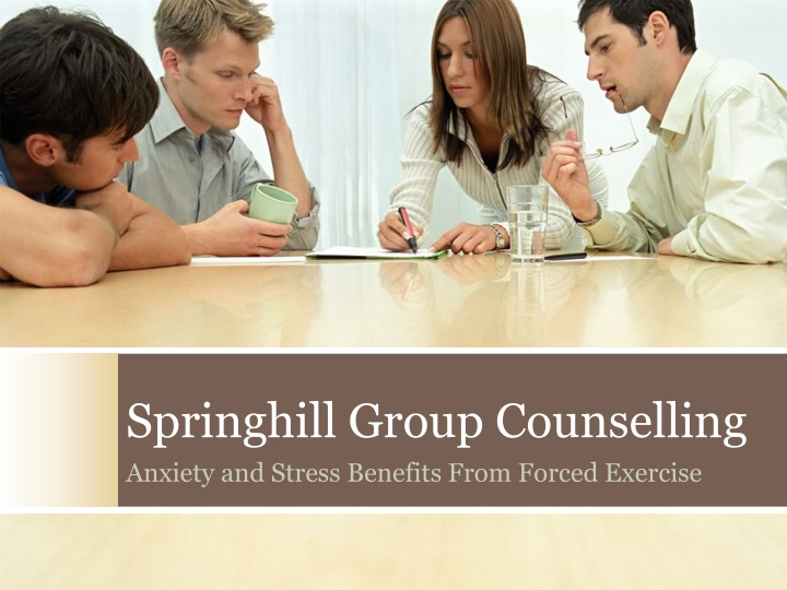 springhill group counselling n.