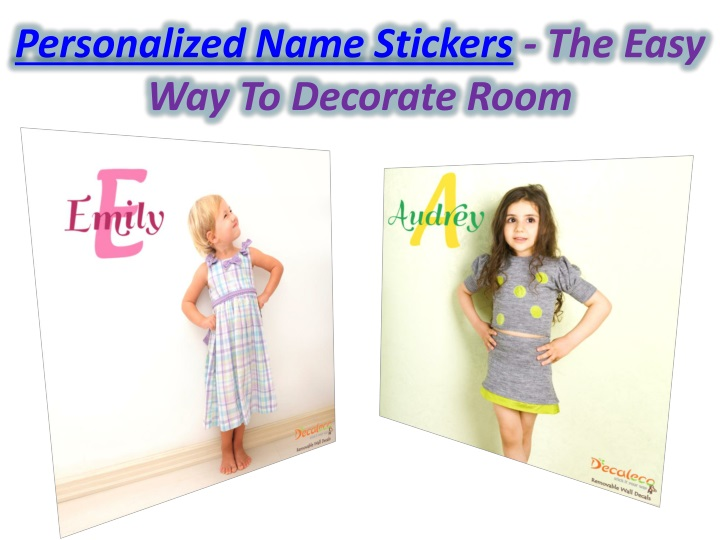 personalized name stickers the easy n.