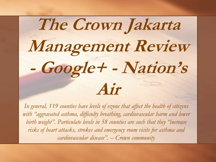 the crown jakarta management review google nation s air n.