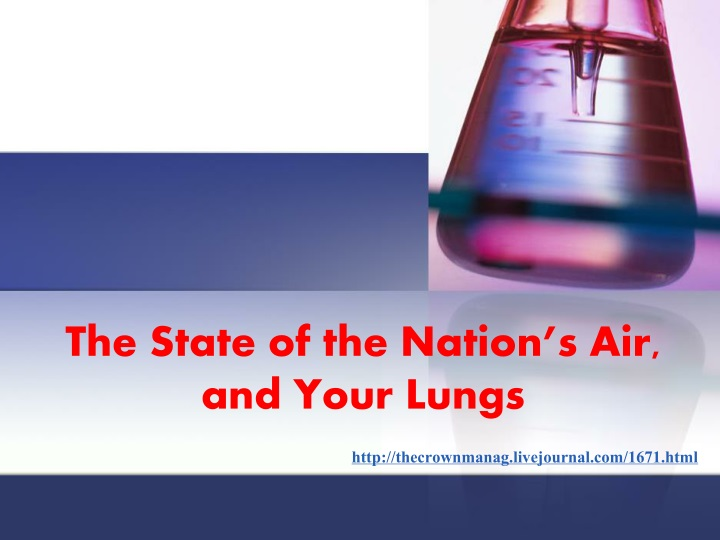 the state of the nation s air and your lungs n.
