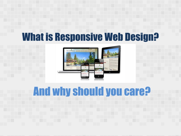 what is responsive web design n.