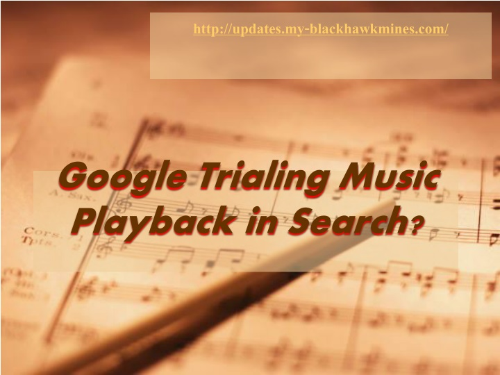google trialing music playback in search n.