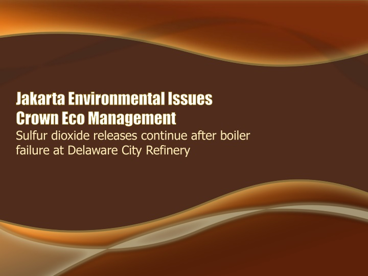 jakarta environmental issues crown eco management n.
