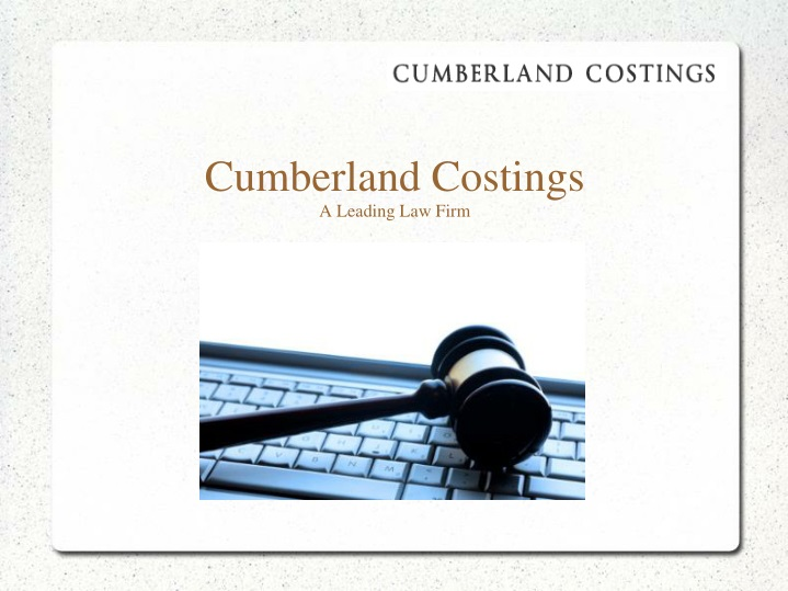 cumberland costings a leading law firm n.