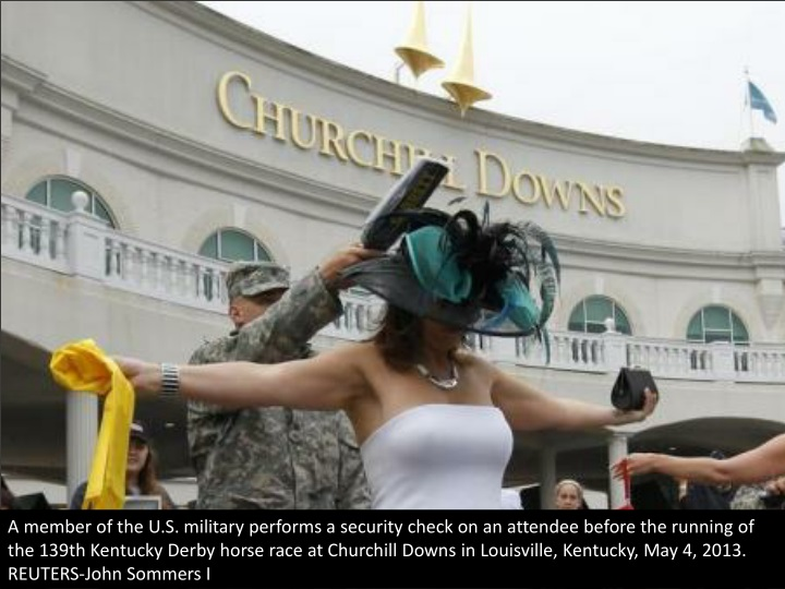 a member of the u s military performs a security n.
