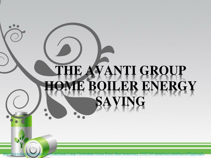 the avanti group home boiler energy saving n.