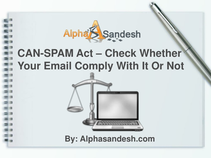 can spam act check whether your email comply with n.