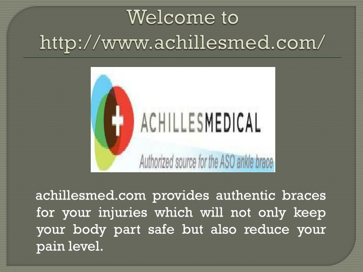 welcome to http www achillesmed com n.