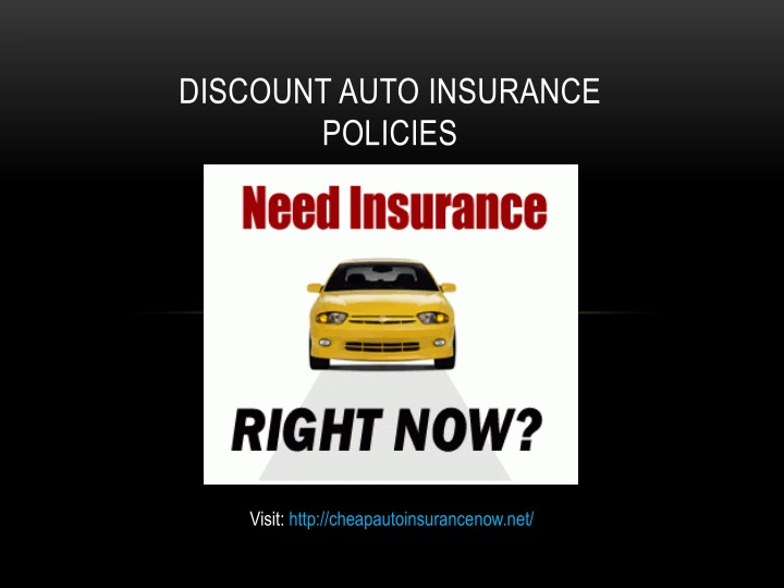 discount auto insurance policies n.