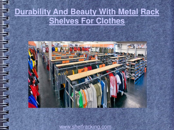 durability and beauty with metal rack shelves for clothes n.