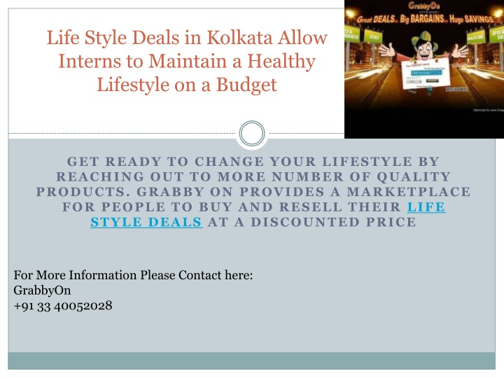 life style deals in kolkata allow interns to maintain a healthy lifestyle on a budget n.