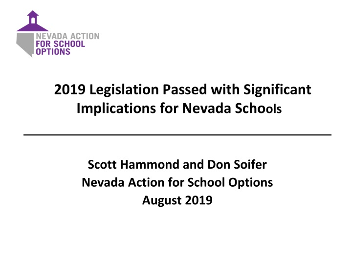 2019 legislation passed with significant n.