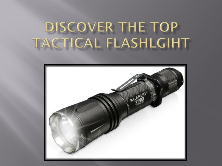 discover the top tactical flashlgiht n.