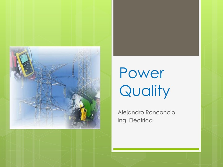 power quality n.