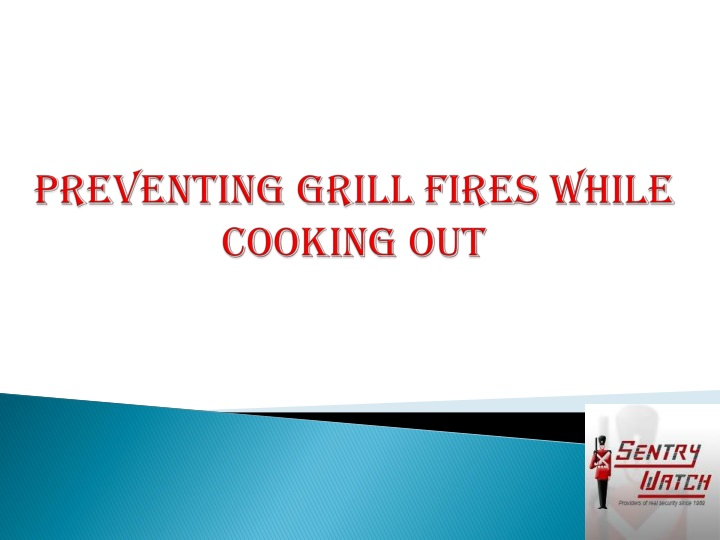 preventing grill fires while cooking out n.