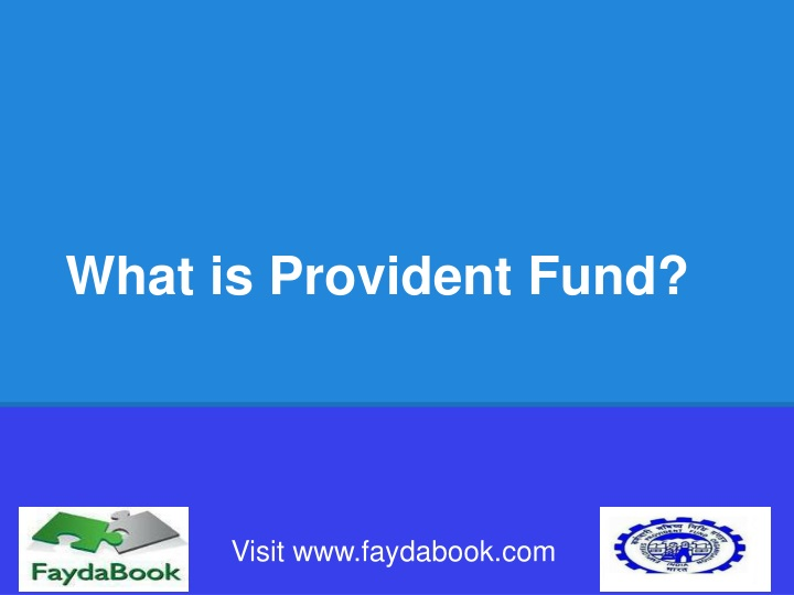 what is provident fund n.