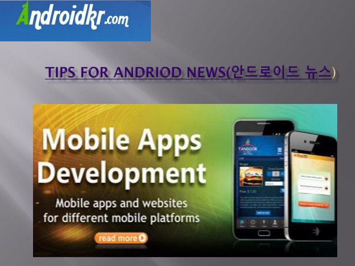 tips for andriod news n.