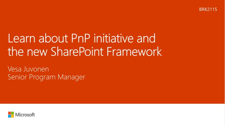learn about pnp initiative and the new sharepoint framework n.