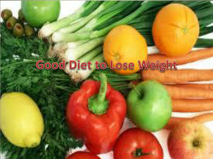 good diet to lose weight n.