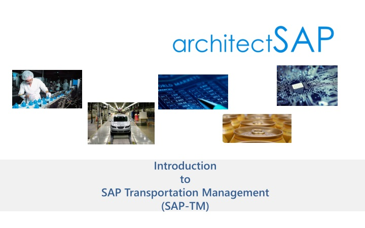 introduction to sap transportation management sap tm n.