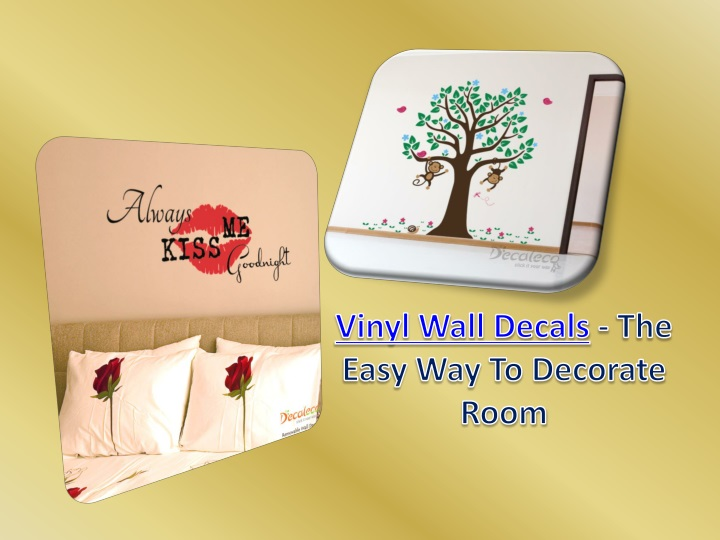 vinyl wall decals the easy way to decorate room n.