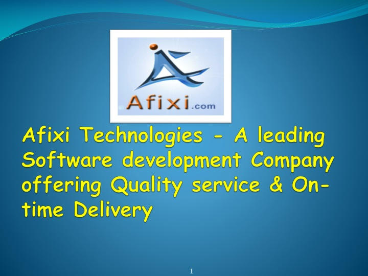afixi technologies a leading software development company offering quality service on time delivery n.