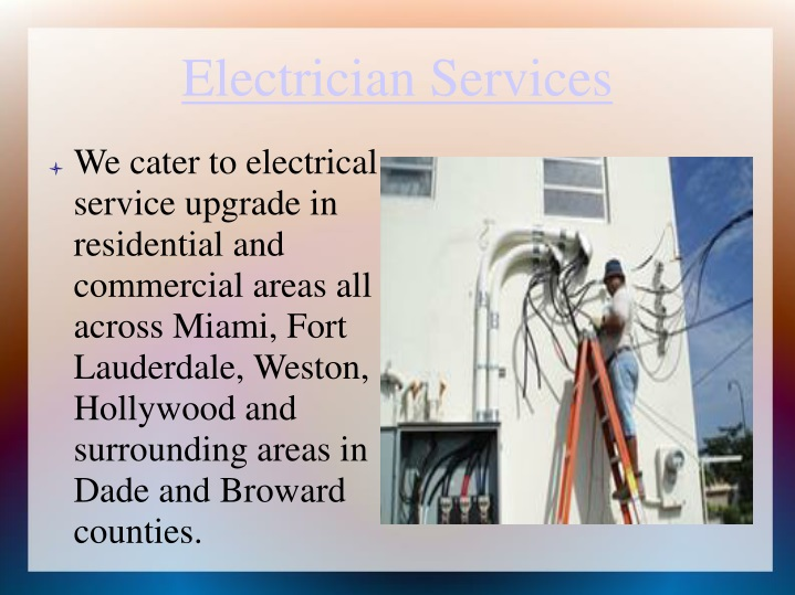 electrician services n.
