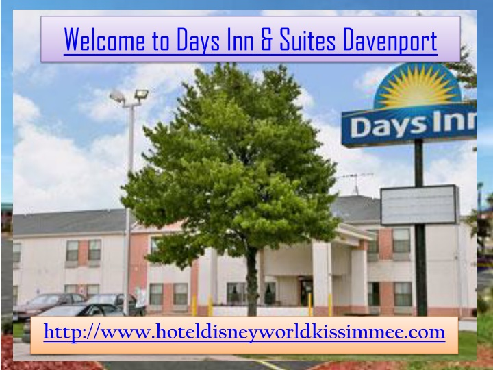 welcome to days inn suites davenport n.
