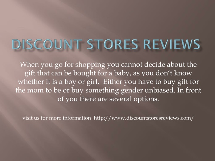 discount stores reviews n.