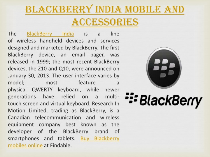 blackberry india mobile and accessories n.
