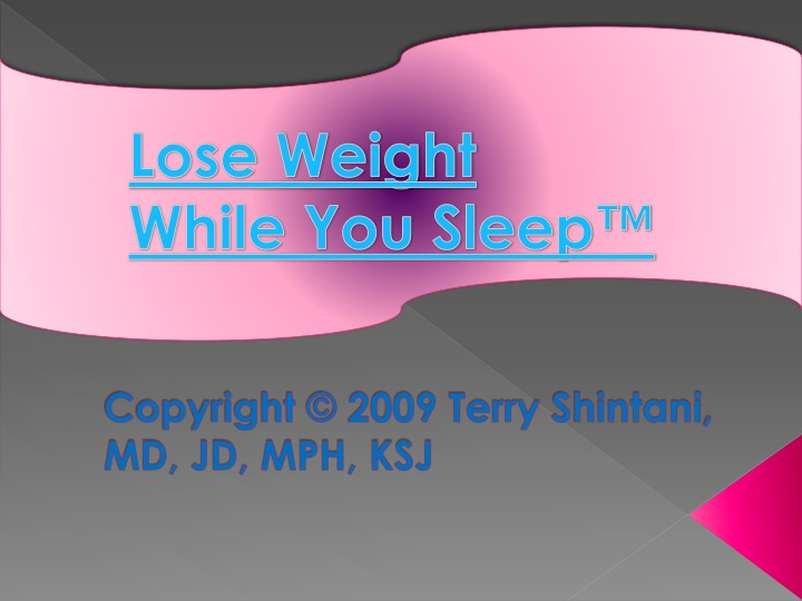 copyright 2009 terry shintani md jd mph ksj n.