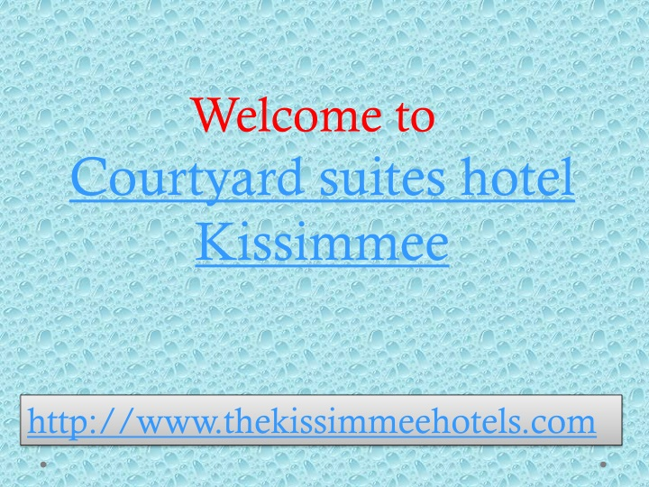 welcome to courtyard suites hotel kissimmee n.