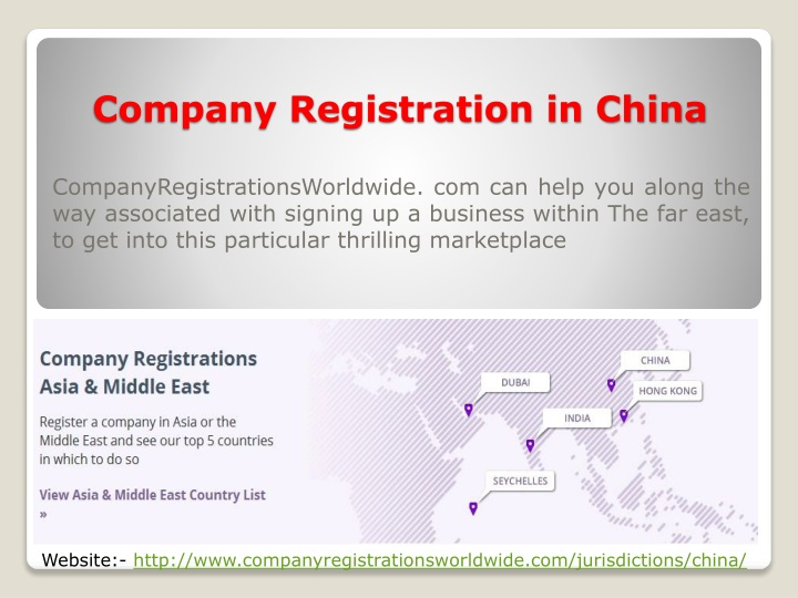 company registration in china n.