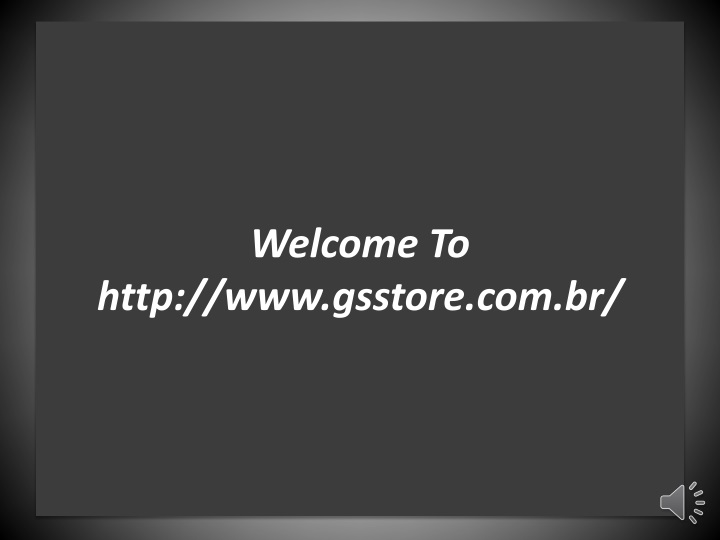 welcome to http www gsstore com br n.
