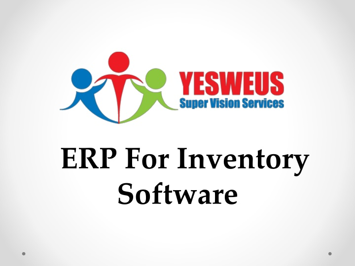 erp for inventory software n.