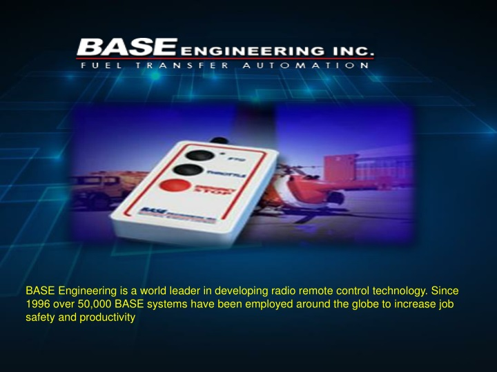 base engineering is a world leader in developing n.