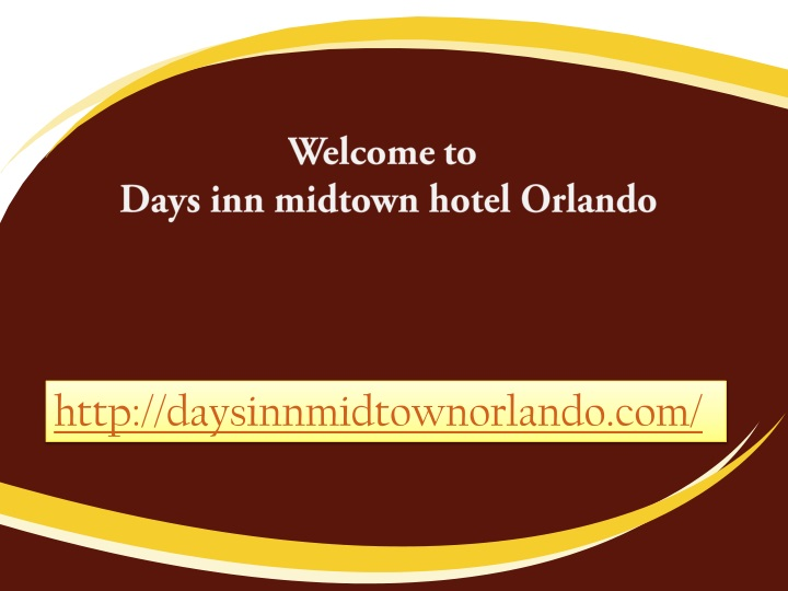 welcome to days inn midtown hotel orlando n.