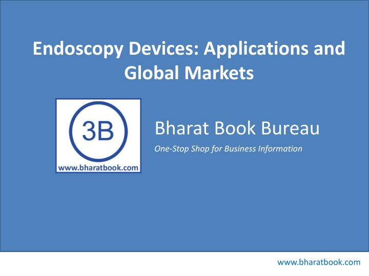 endoscopy devices applications and global markets n.