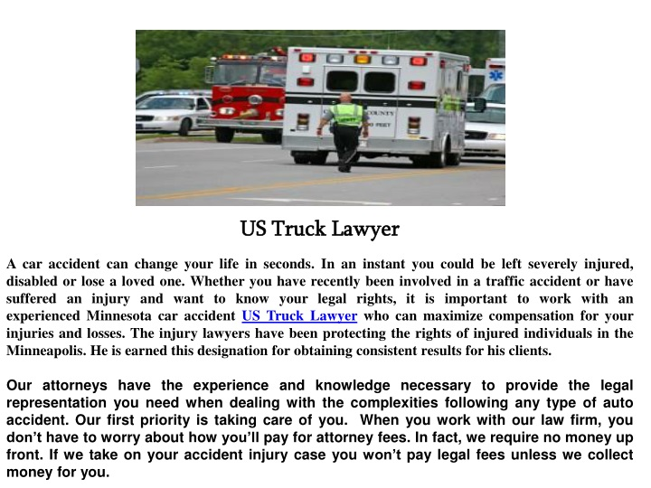 us truck lawyer a car accident can change your n.