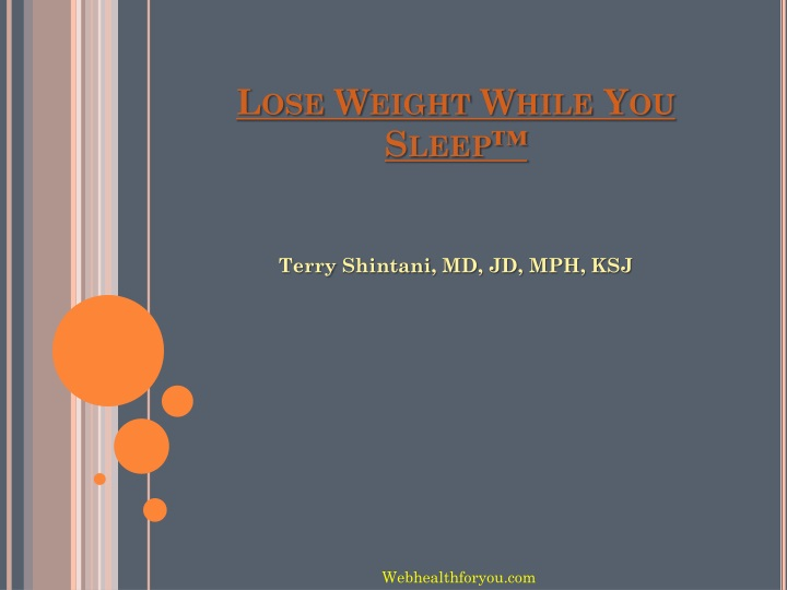lose weight while you sleep n.
