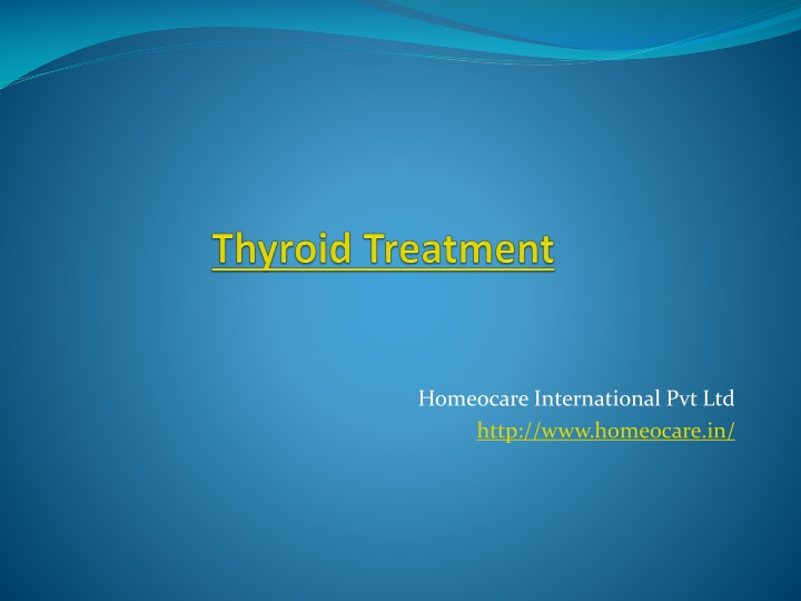 thyroid treatment n.