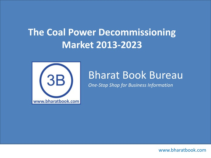 the coal power decommissioning market 2013 2023 n.
