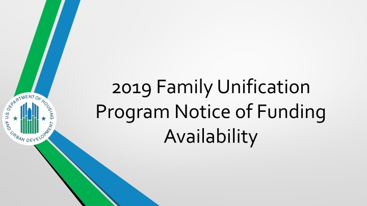 2019 family unification program notice of funding availability n.