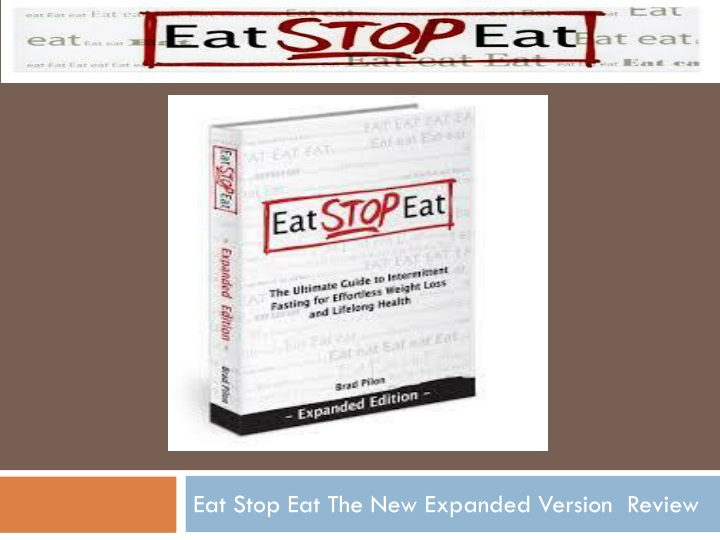 eat stop eat the new expanded version review n.