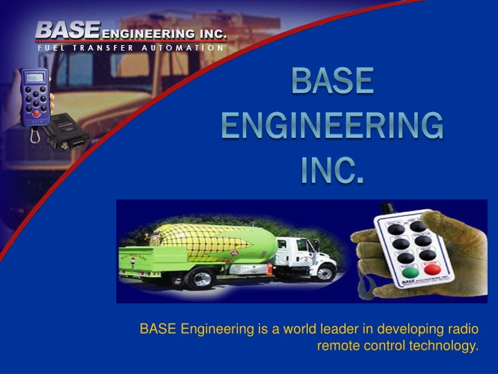 base engineering is a world leader in developing radio remote control technology n.
