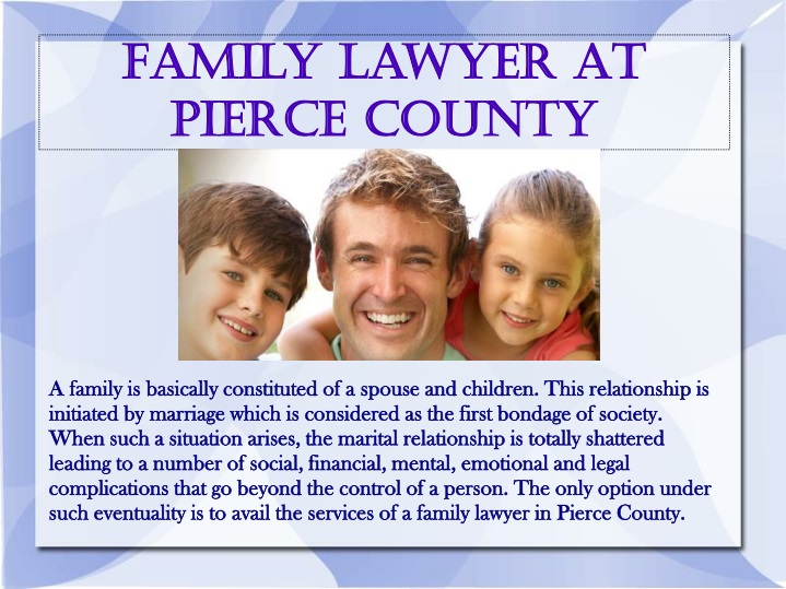 family lawyer at pierce county n.