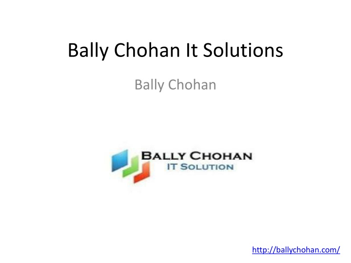 bally chohan it solutions n.