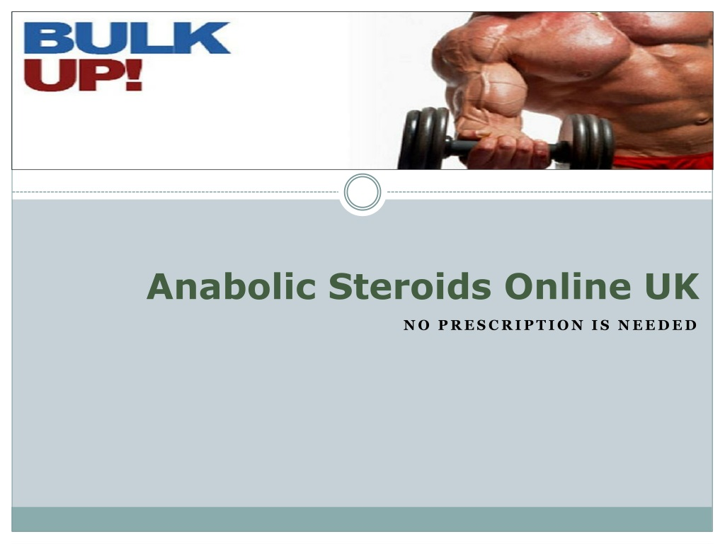Ppt Anabolic Steroids Online Uk Powerpoint Presentation Free Download Id 1339878