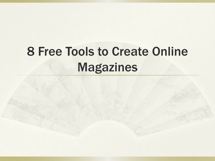 8 free tools to create online magazines n.